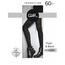 Колготки женcкие фантазийные Gatta Flash&Black 02