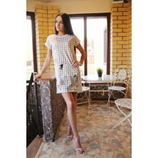 Платье женское домашнее Золотое руно 230521 Bon voyage