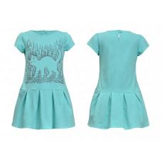 Платье для девочки Лунева 11-75-5.