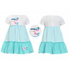 Платье для девочки Лунева 11-76-2.