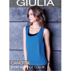 Майка женская спортивная Giulia Canotta Sport Melange Color
