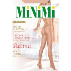 Колготки женcкие фантазийные MiNiMi Retina