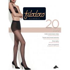Колготки женские классические Filodoro Classic Dora 20