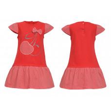 Платье для девочки Лунева 11-24-3.