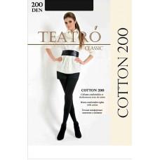 Колготки женские классические Teatro Cotton 200