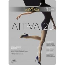 Колготки женские классические Omsa Attiva 20