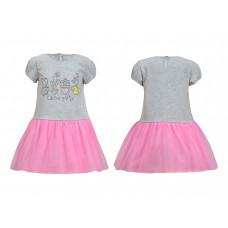Платье для девочки Лунева 11-74-4.