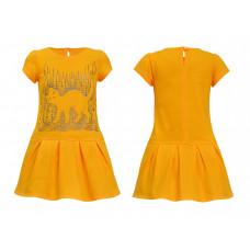 Платье для девочки Лунева 11-75-6.