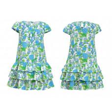 Платье для девочки Лунева 11-79-1.