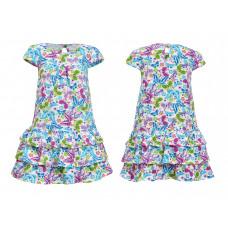 Платье для девочки Лунева 11-79-3.
