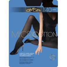 Колготки женские классические Omsa Micro&Cotton