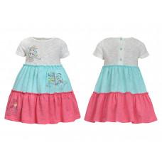 Платье для девочки Лунева 11-77-3.