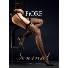 Чулки женские фантазийные Fiore Burlesque Aut