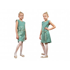 Платье для девочки Лунева 11-78-5.
