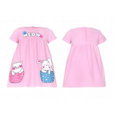 Платье для девочки Лунева 11-85-2.