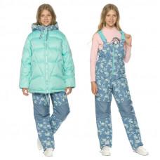 Комплект верхней одежды для девочки Pelican GZKW4197