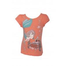 Футболка для девочки Basia Л1431-5088