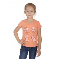 Футболка для девочки Basia Л1434-5044