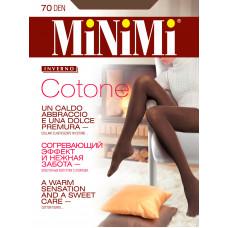 Колготки женские классические MiNiMi COTONE 70 Колготки