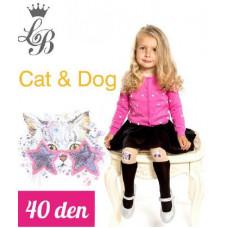 Колготки для девочки п/а Love Baby LB Cat&dog