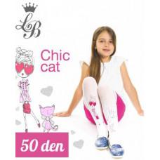 Колготки для девочки п/а Love Baby LB Chic cat