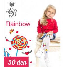 Колготки для девочки п/а Love Baby LB Rainbow
