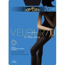 Колготки женские классические Omsa Velour 70 XL