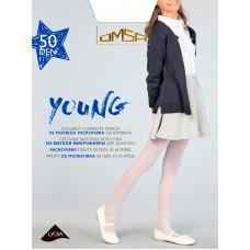 Колготки для девочки п/а Omsa Young 50