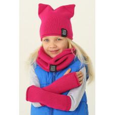 Комплект детский (шапка+шарф) Ander And-1139+And-1139-1