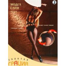 Колготки женские корректирующие Грация Золотая Модел Слим 40