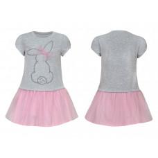 Платье для девочки Лунева 11-90-1.