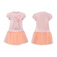 Платье для девочки Лунева 11-90-3.