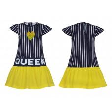 Платье для девочки Лунева 11-93-6.