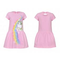 Платье для девочки Лунева 11-95-3.