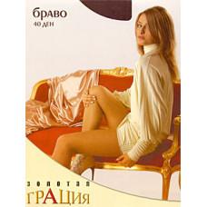 Колготки женские классические Грация Золотая Браво 40