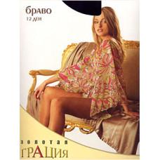 Колготки женские классические Грация Золотая Браво 12