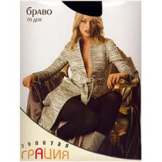 Колготки женские классические Грация Золотая Браво 70 XL