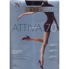 Колготки женские классические Omsa Attiva 70 XXL