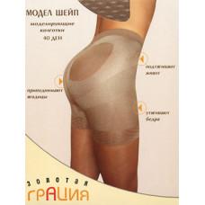 Колготки женские корректирующие Грация Золотая Модел Шейп 40