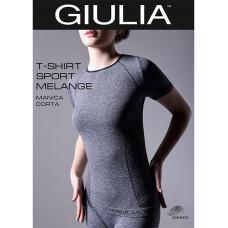 Футболка женская спортивная Giulia T-Shirt Manica Corta Sport Melange