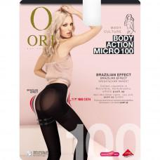 Колготки женские корректирующие Ori Body Action micro 100