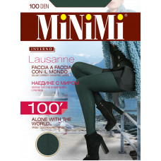 Колготки женcкие фантазийные MiNiMi Lausanne 100