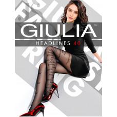 Колготки женcкие фантазийные Giulia Headlines 01