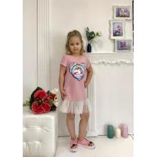 Платье для девочки De Angello 020Е