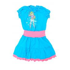 Платье для девочки Милослава Д 01102-П К-3/Л-3