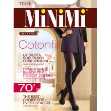 Колготки женские классические MiNiMi Cotonfill 70