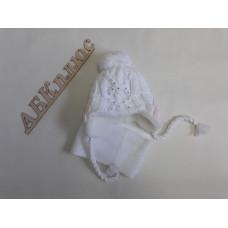 Комплект детский (шапка+шарф) Еврокап ambs11